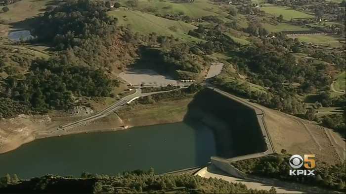 Draining Of Santa Clara County's Anderson Reservoir To Begin In October