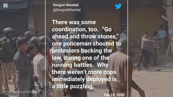 Journalists Recount What They Saw Covering Riots In Delhi