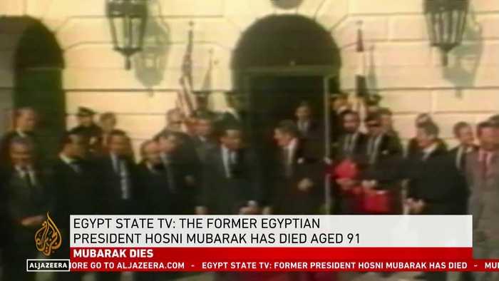 A look back on Mubarak's life