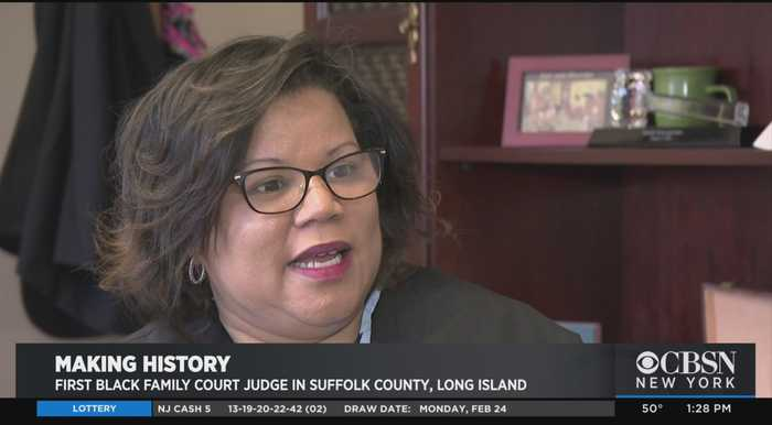 Black History Month: Judge Victoria Gumbs-Moore Breaking Down Barriers On Long Island