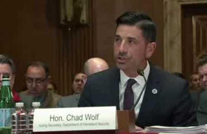 Sen. Kennedy blasts acting DHS chief on coronavirus preparedness