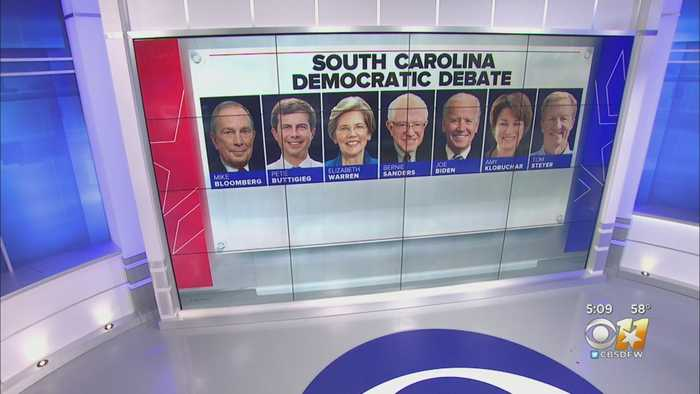 Stakes Climbing In Democratic Presidential Debate In South Carolina Tonight On CBS