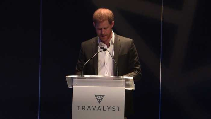 Harry tells Scotland it is leading the way in one of last royal engagements