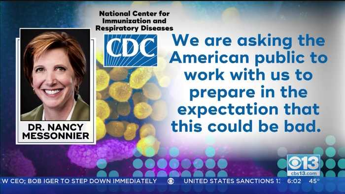 CDC Official Issues Warning About Coronavirus