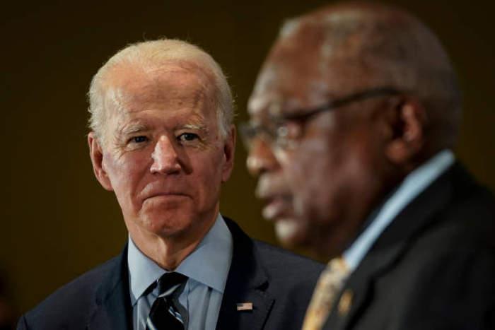 Joe Biden Secures Endorsement From Rep Jim Clyburn