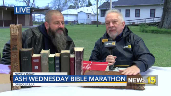 Holy Ghost Bible Marathoon