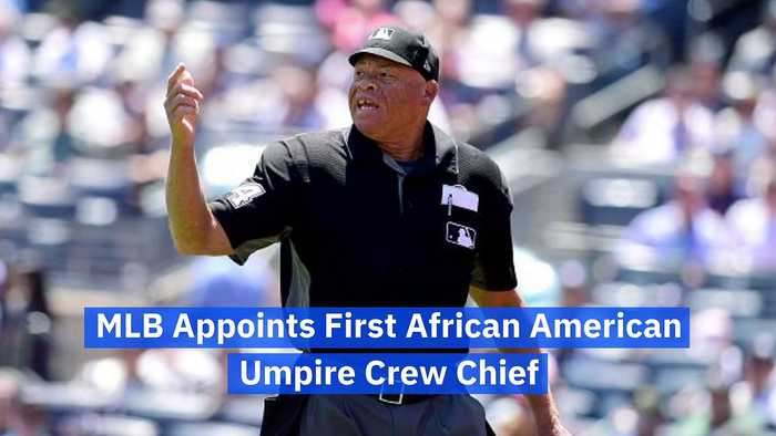 MLB Appoints First African American Umpire Crew Chief