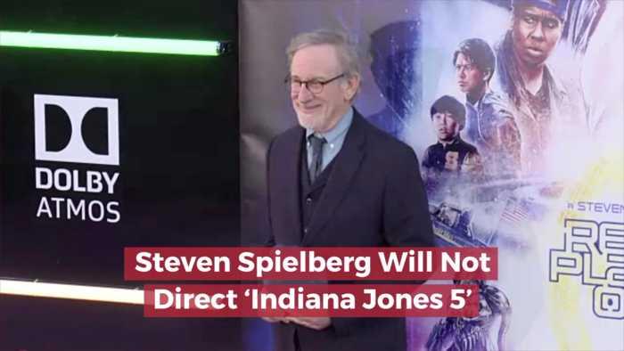 Steven Spielberg Says No To  'Indiana Jones 5'