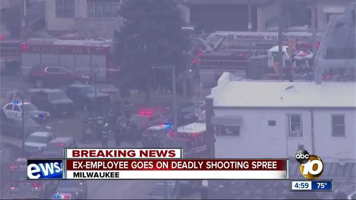 Ex-employee goes on deadly shooting spree in Milwaukee