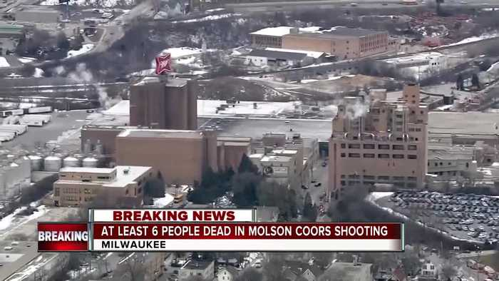 5 killed in shooting at Molson Coors' Milwaukee headquarters, home of the historic Miller Brewery