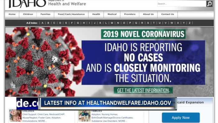 Coronavirus preparations in Idaho