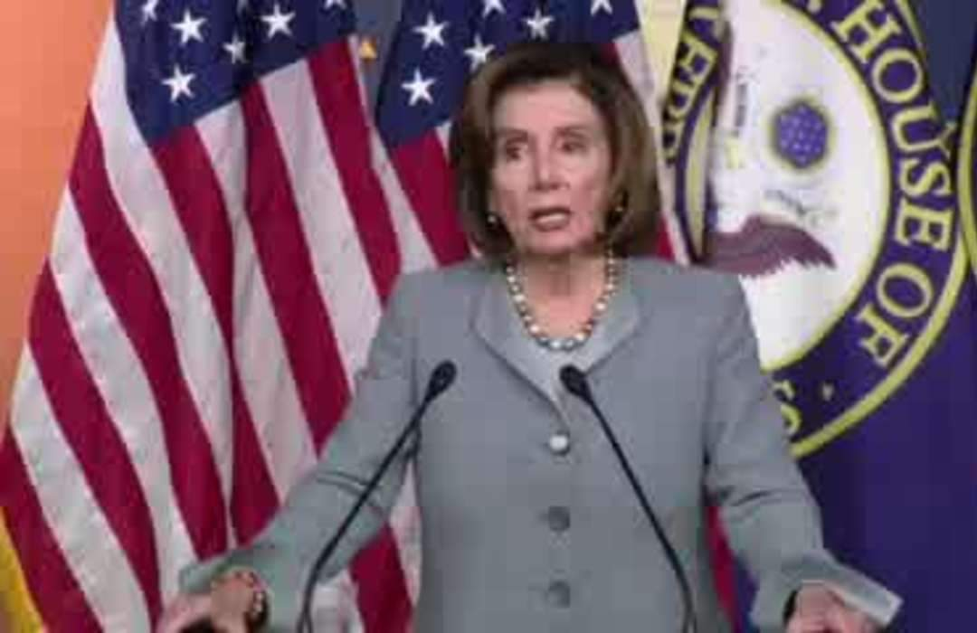 'Let's not be silly' -Pelosi pushes back on Trump's reasons for market drop