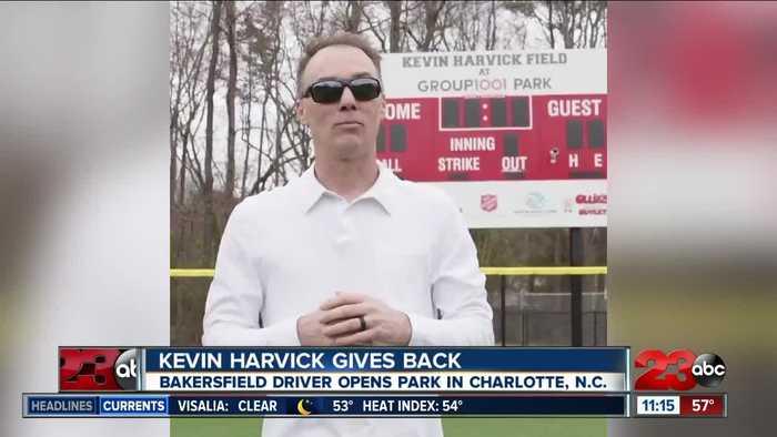 Bakersfield native Kevin Harvick opens park in North Carolina