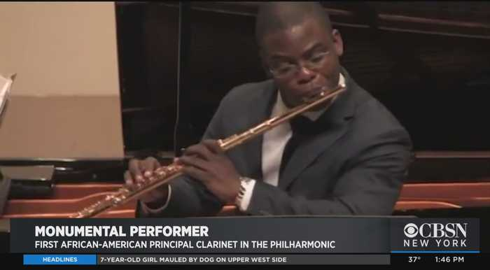 Black History Month: Anthony McGill, First African-American Principal Clarinet At New York Philharmonic