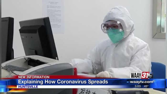Explaining How Coronavirus Spreads