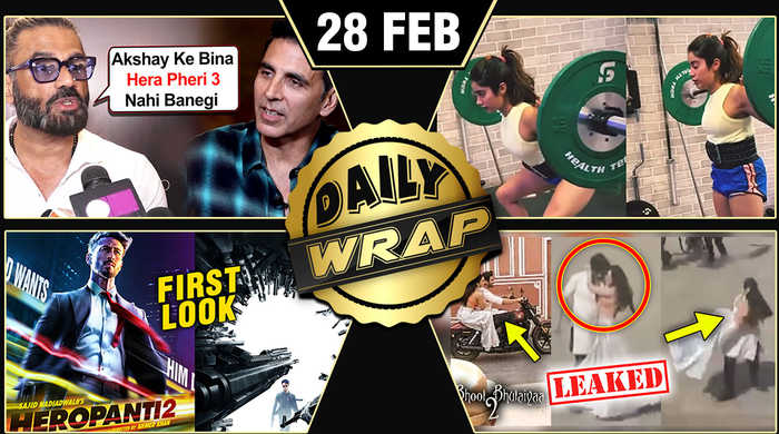 Hera Pheri 3, Tiger Heropanti 2 FIRST Look, Kartik Kiara ROMANCE   Top 10 News