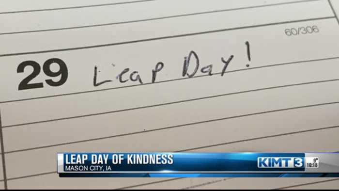 Leap day of kindness
