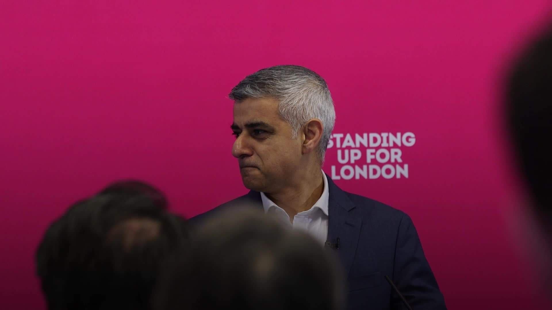 Khan puts rent controls at centre of London mayor re-election campaign