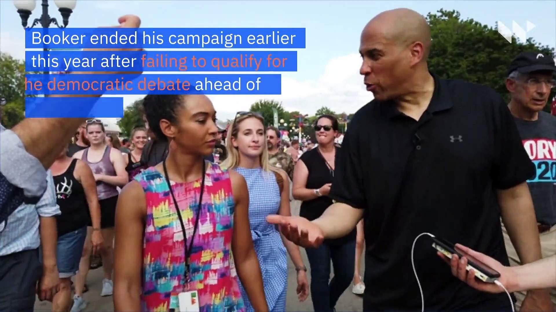 Kamala Harris and Cory Booker Endorse Joe Biden