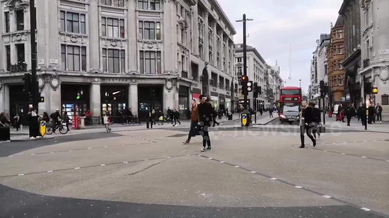 London is empty amid coronavirus outbreak fears