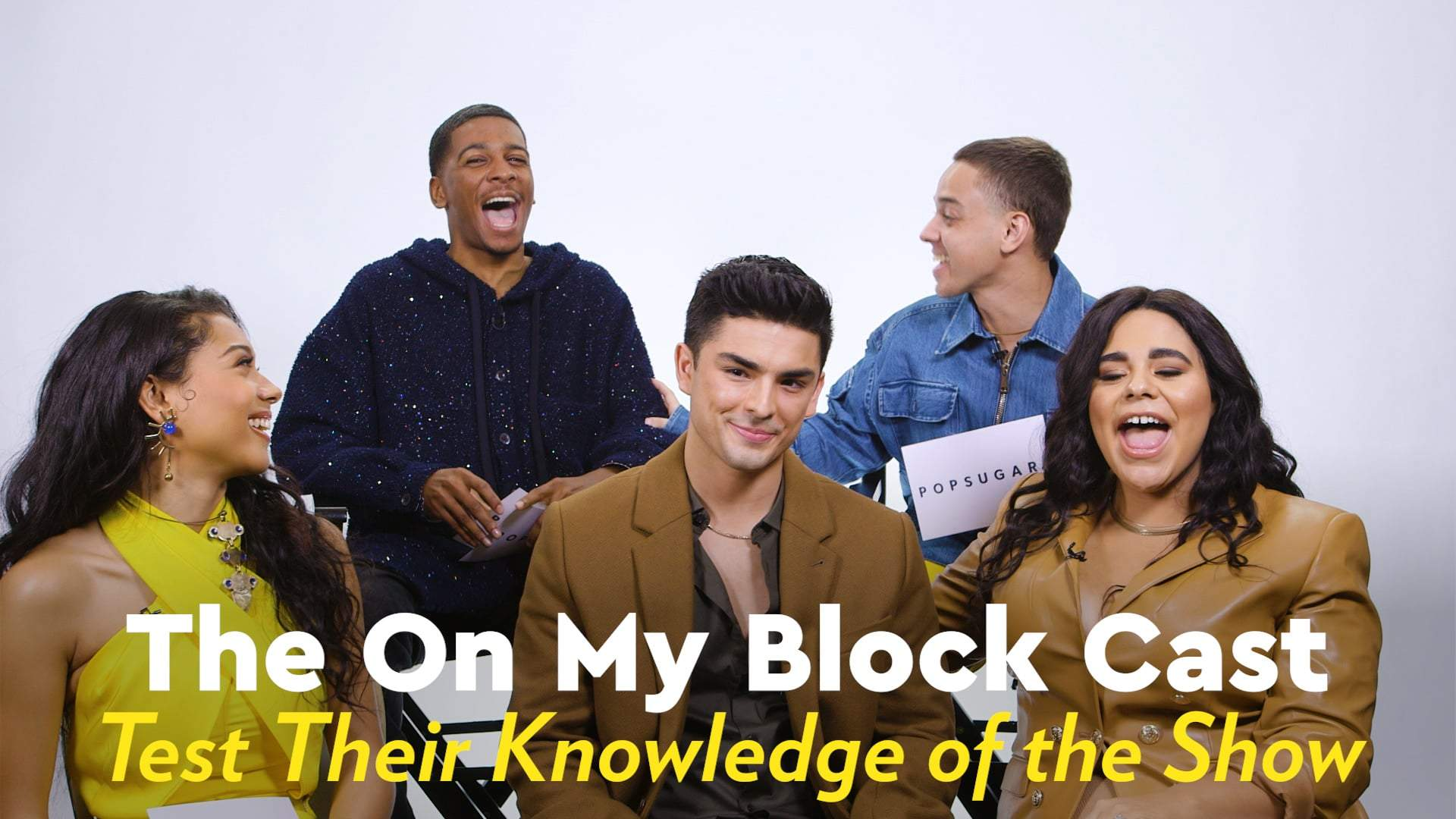 Watch The On My Block Cast Quiz Each Other On One News Page Video