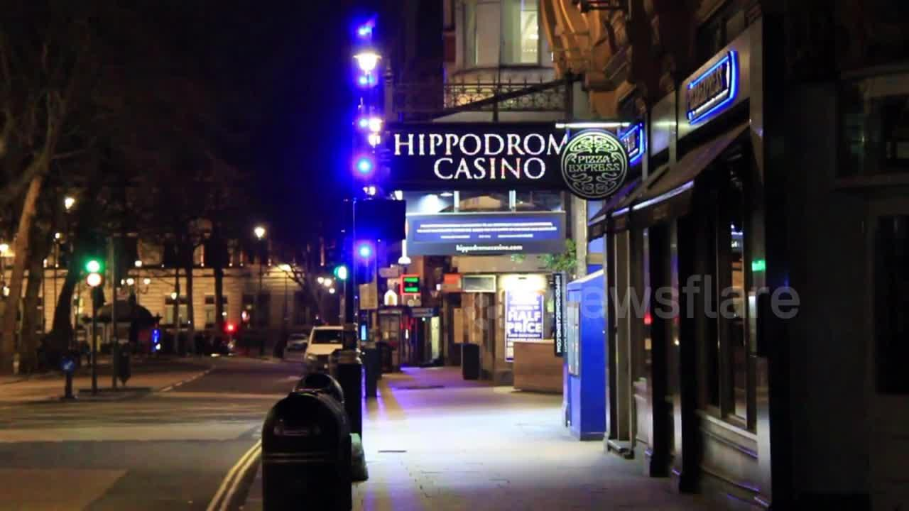 Saturday night in central London: streets deserted as nightlife closes