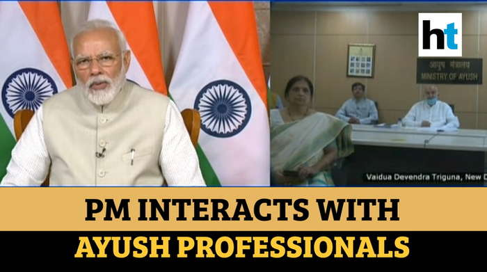 'AYUSH sector's importance increased manifold in efforts to tackle COVID-19': PM Modi