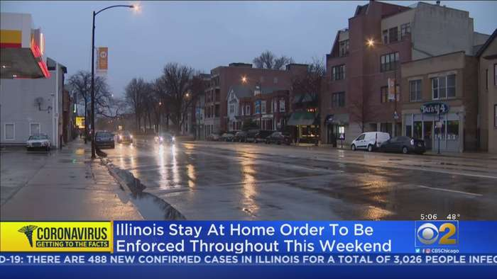 Illinois Stay-At-Home Order To Be Enforced Throughout Weekend