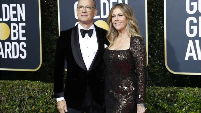 Tom Hanks And Rita Wilson Back In States