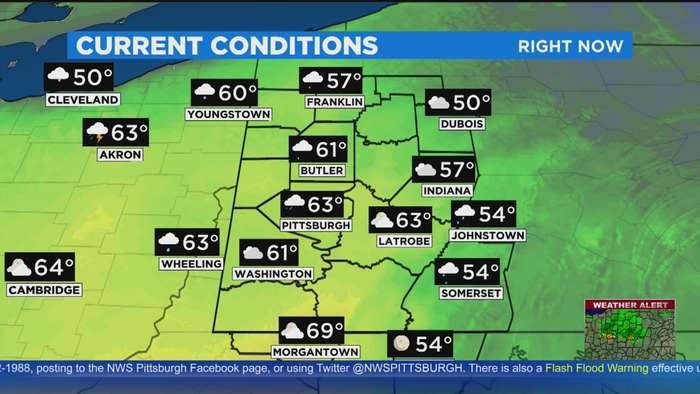 KDKA-TV Weekend Forecast (3/28)