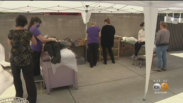Pregnant Women Get Care At Outdoor Birthing Center Amid Coronavirus Fears