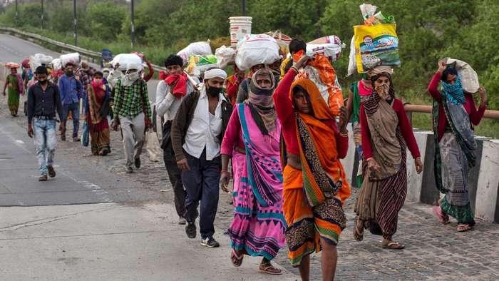 Coronavirus lockdown: India grapples with migrant workers' exodus