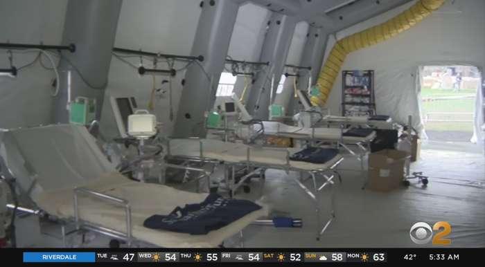 Coronavirus Update: Inside Central Park Field Hospital