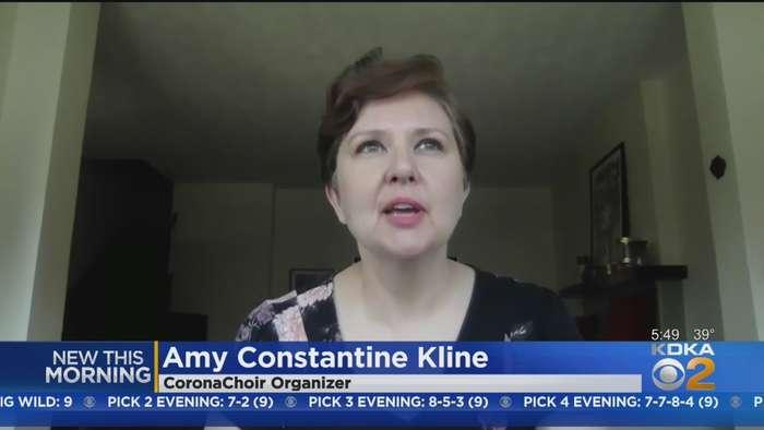 Woman Raises Neighbors' Spirits With Dormont CoronaChoir
