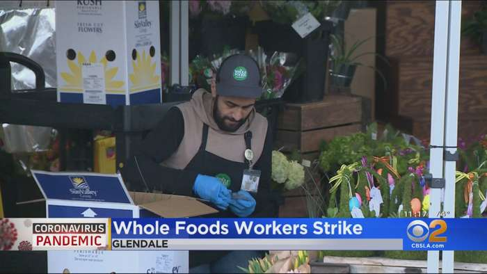 Whole Foods Workers Stage Sickout