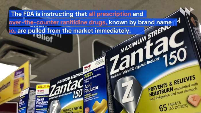 FDA Calls for Zantac to Be Pulled From Market