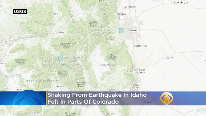 Shaking From Idaho Earthquake Felt In Colorado