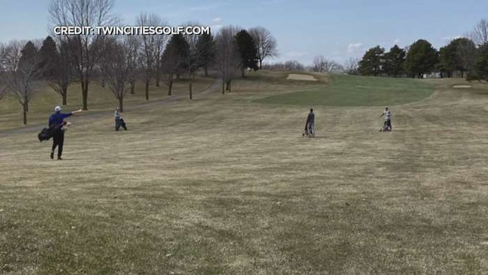 The Push To Open Golf Courses Amid Pandemic
