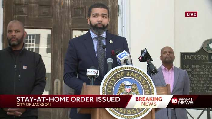 Stay-at-home order issued in Jackson