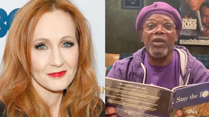 J.K. Rowling Launches 'Harry Potter at Home' Hub, Samuel L. Jackson Reads 'Stay the F--k at Home' & More   THR News
