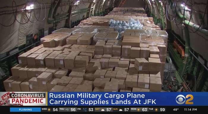 Coronavirus Update: Russian Military Cargo Plane Brings Supplies To New York