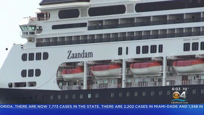 Two Holland America Cruise Ships Off Coast Of South Florida