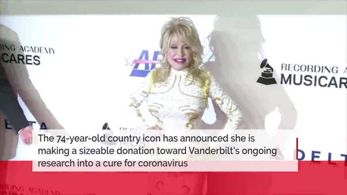 Dolly Parton donates $1 million to coronavirus cure research