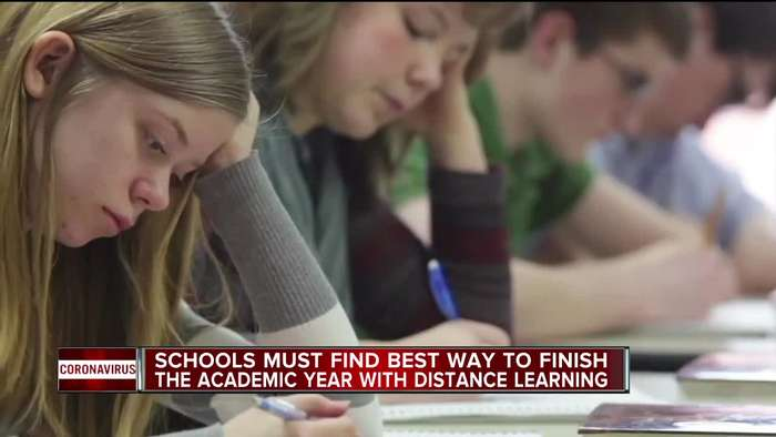 Schools must find best way to finish the academic year with distance learning.