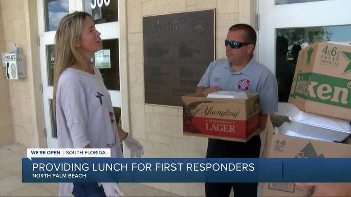North Palm Beach restaurant providing lunch for first responders