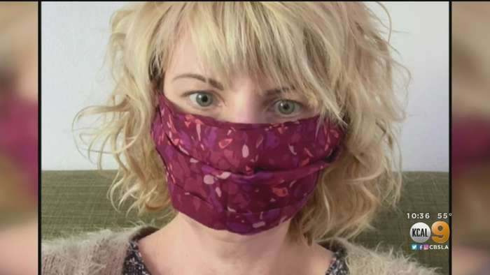 Eagle Rock Clothing Designer Uses Talents To Sew Face Masks In Wake Of Coronavirus Pandemic