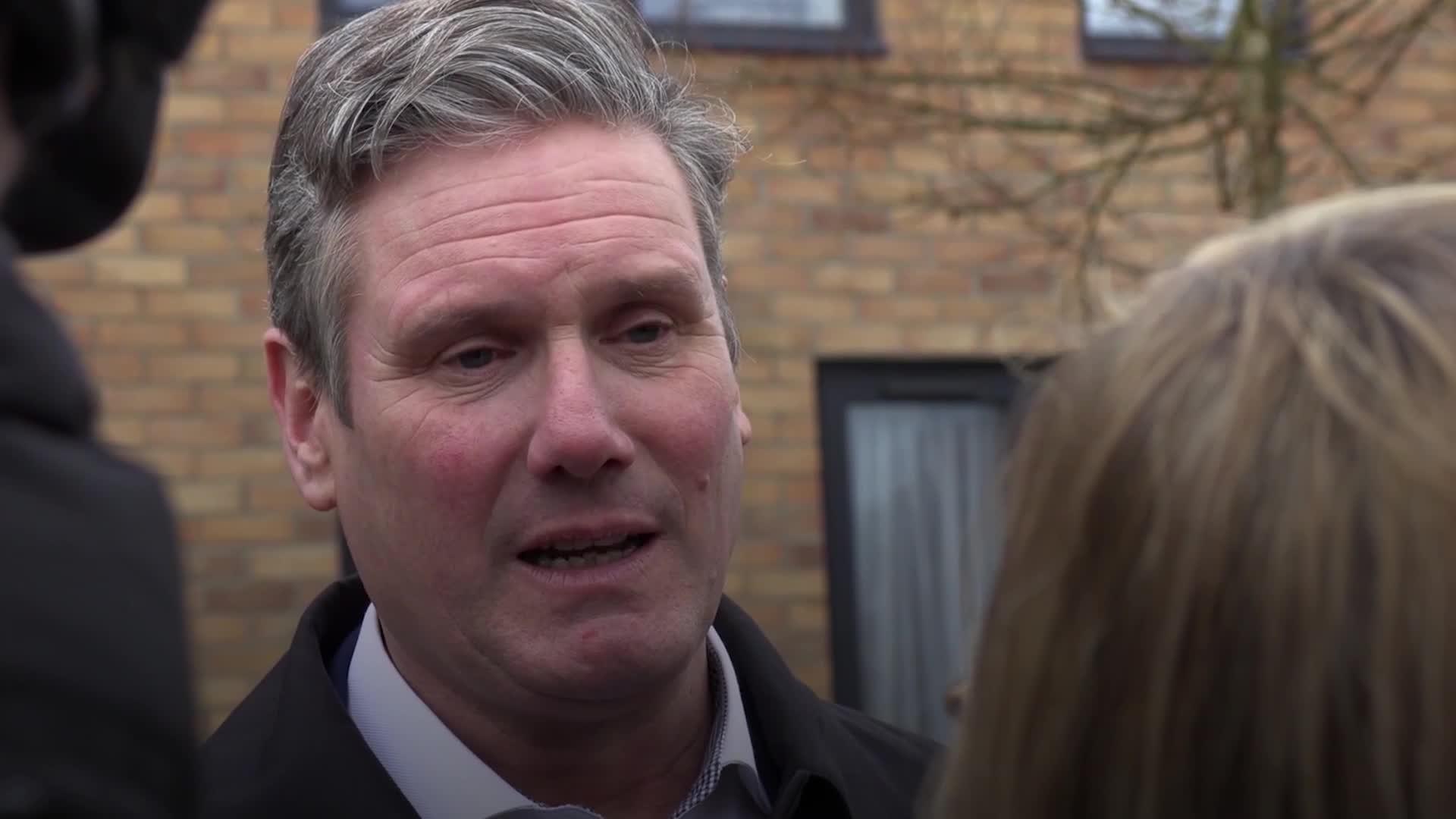 Sir Keir Starmer announced as new Labour leader