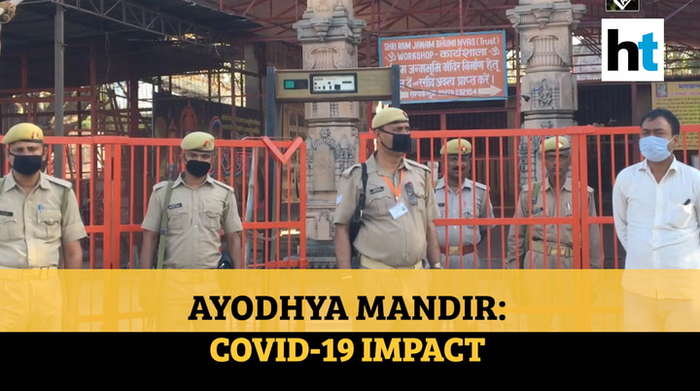 Ram Mandir: Watch Coronavirus pandemic's impact on Ayodhya temple construction