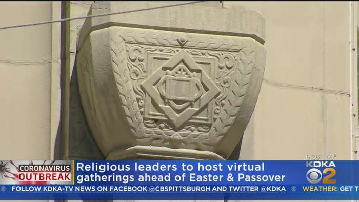 Area Worship Sites Locking Doors During Holy Week Amid Coronavirus Outbreak