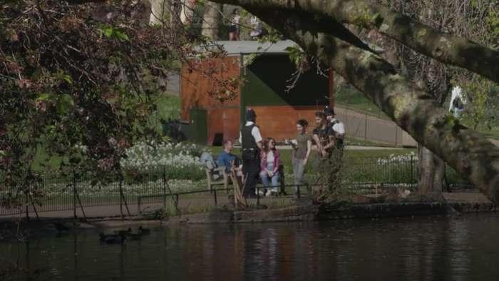 Health Secretary: Public sunbathing banned in lockdown